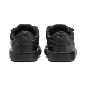 Thumbnail 3 of Smash v2 Kids' Trainers, Puma Black-Puma Black, medium