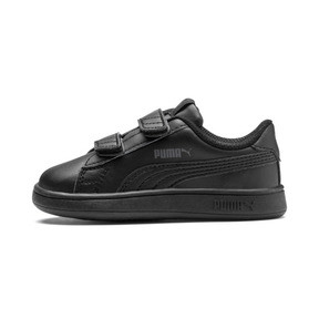 Thumbnail 1 of Smash v2 Kids' Trainers, Puma Black-Puma Black, medium