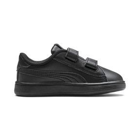 Thumbnail 5 of Smash v2 Kids' Trainers, Puma Black-Puma Black, medium