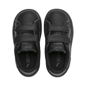 Thumbnail 6 of Smash v2 Kids' Trainers, Puma Black-Puma Black, medium