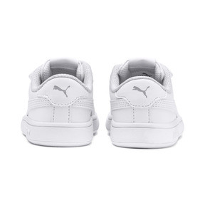 Thumbnail 3 of Smash v2 Kinder Sneaker, Puma White-Puma White, medium