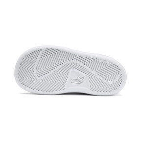 Thumbnail 4 of Puma Smash v2 L V Toddler Shoes, Puma White-Puma White, medium