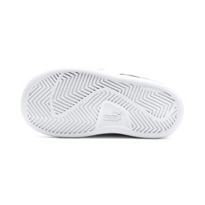 Thumbnail 3 of Smash v2 Kids' Trainers, Puma White-Ponderosa Pine, medium