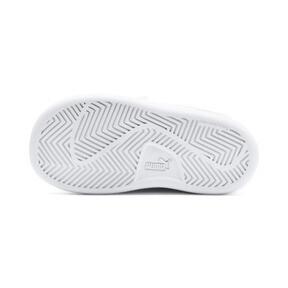 Thumbnail 4 of Puma Smash v2 L V Toddler Shoes, White-Fair Aqua-Pale Pink, medium