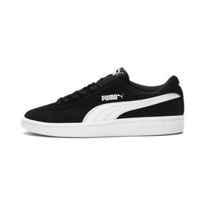 Thumbnail 1 of Smash v2 Suede Sneakers JR, Puma Black-Puma White, medium