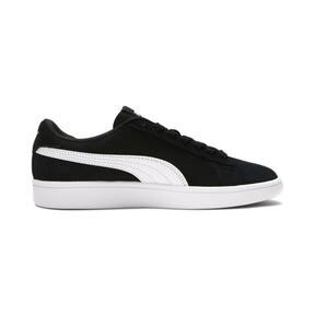 Thumbnail 5 of Smash v2 Suede Sneakers JR, Puma Black-Puma White, medium