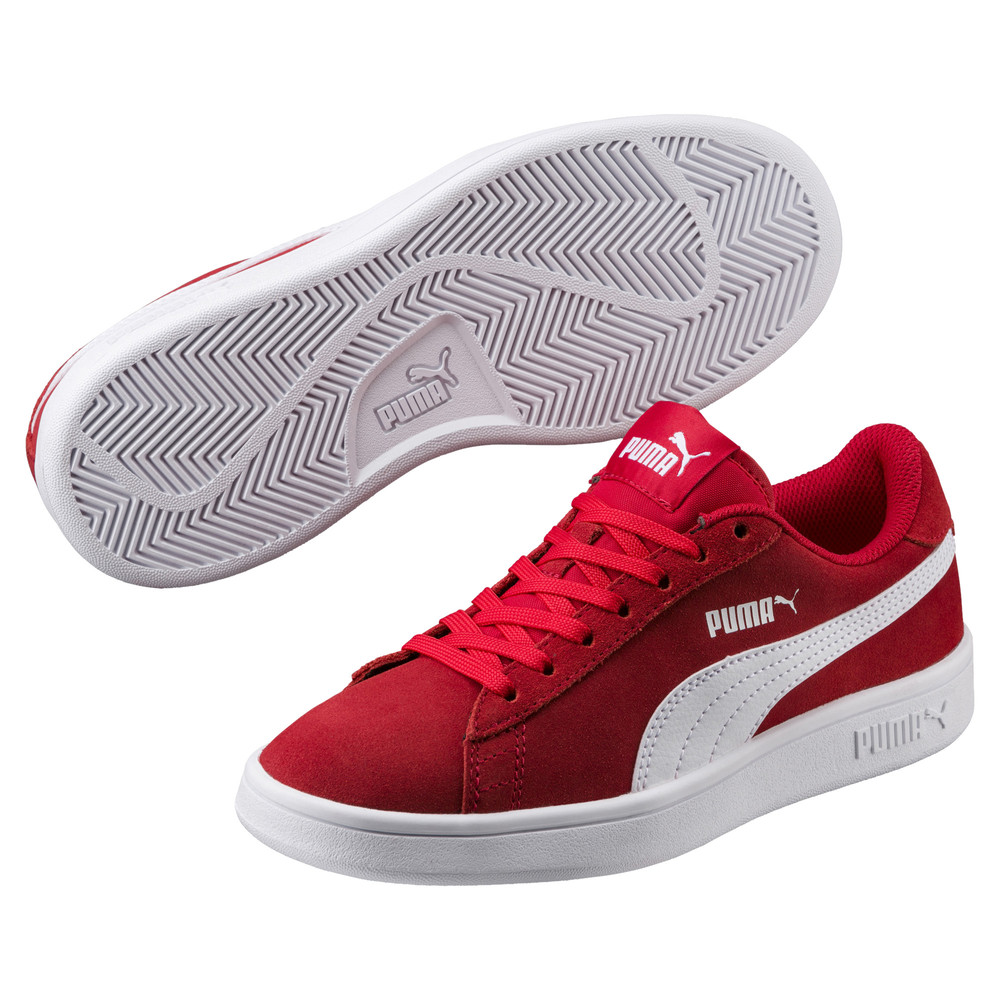 Image PUMA Smash v2 Suede Youth Trainers #1