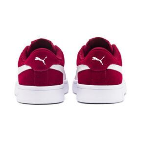 Thumbnail 3 of Smash v2 Suede Sneakers JR, Rhubarb-Puma White, medium