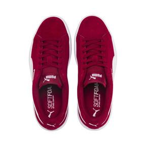 Thumbnail 6 of Smash v2 Suede Sneakers JR, Rhubarb-Puma White, medium