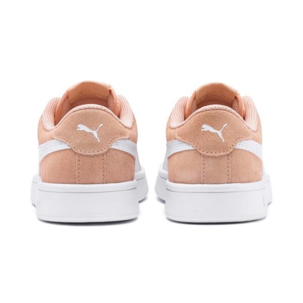 Zapatos deportivosSmash v2Suede para JR, Peach Parfait-Puma White, grande
