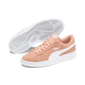 Miniatura 2 de Zapatos deportivosSmash v2Suede para JR, Peach Parfait-Puma White, mediano