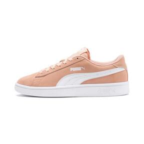 Miniatura 1 de Zapatos deportivosSmash v2Suede para JR, Peach Parfait-Puma White, mediano