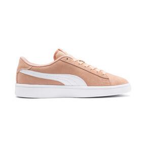 Miniatura 5 de Zapatos deportivosSmash v2Suede para JR, Peach Parfait-Puma White, mediano
