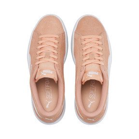 Miniatura 6 de Zapatos deportivosSmash v2Suede para JR, Peach Parfait-Puma White, mediano