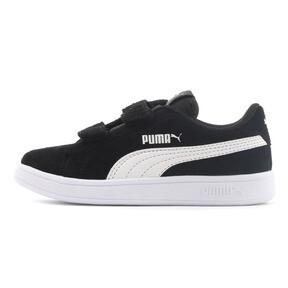 Thumbnail 1 of キッズ プーマ スマッシュ V2 SD V PS (17-21cm), Puma Black-Puma White, medium-JPN