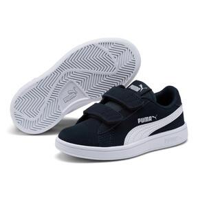 Miniatura 2 de ZapatosSmash v2Suede para niños, Peacoat-Puma White, mediano