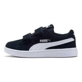 Miniatura 1 de ZapatosSmash v2Suede para niños, Peacoat-Puma White, mediano