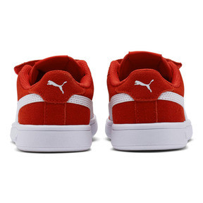 Thumbnail 4 of Smash v2 Suede Little Kids' Shoes, High Risk Red-Puma White, medium