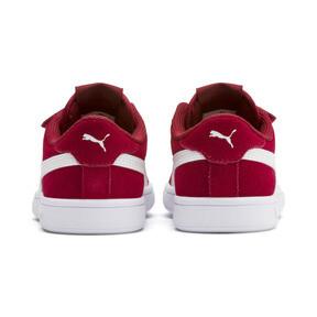 Miniatura 3 de ZapatosSmash v2Suede para niños, Rhubarb-Puma White, mediano