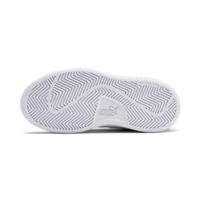 Miniatura 4 de ZapatosSmash v2Suede para niños, Rhubarb-Puma White, mediano