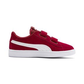 Miniatura 5 de ZapatosSmash v2Suede para niños, Rhubarb-Puma White, mediano