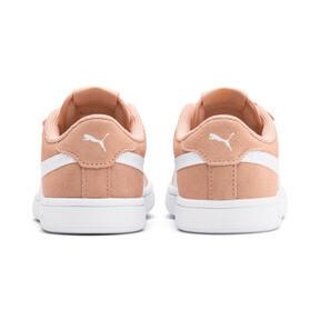 Miniatura 3 de ZapatosSmash v2Suede para niños, Peach Parfait-Puma White, mediano