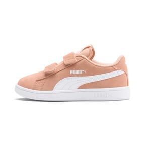 Miniatura 1 de ZapatosSmash v2Suede para niños, Peach Parfait-Puma White, mediano