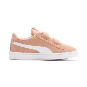 Miniatura 5 de ZapatosSmash v2Suede para niños, Peach Parfait-Puma White, mediano