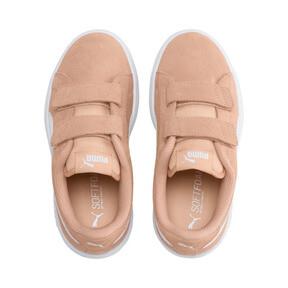 Miniatura 6 de ZapatosSmash v2Suede para niños, Peach Parfait-Puma White, mediano