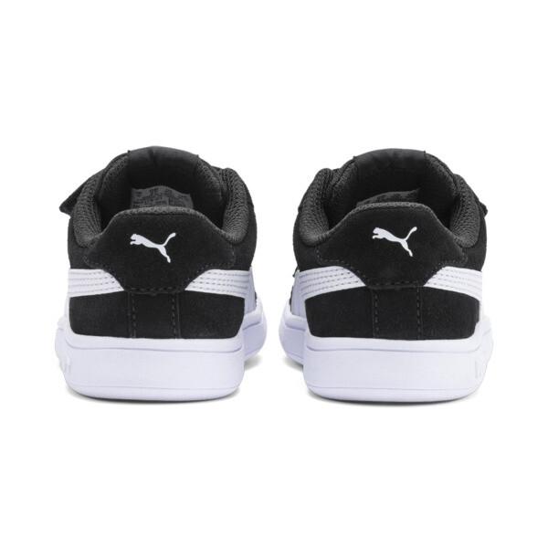 ZapatosPUMA Smash v2Suede para bebés, Puma Black-Puma White, grande