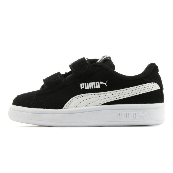 ベビー プーマ スマッシュ V2 SD V (12-16cm), Puma Black-Puma White, large-JPN