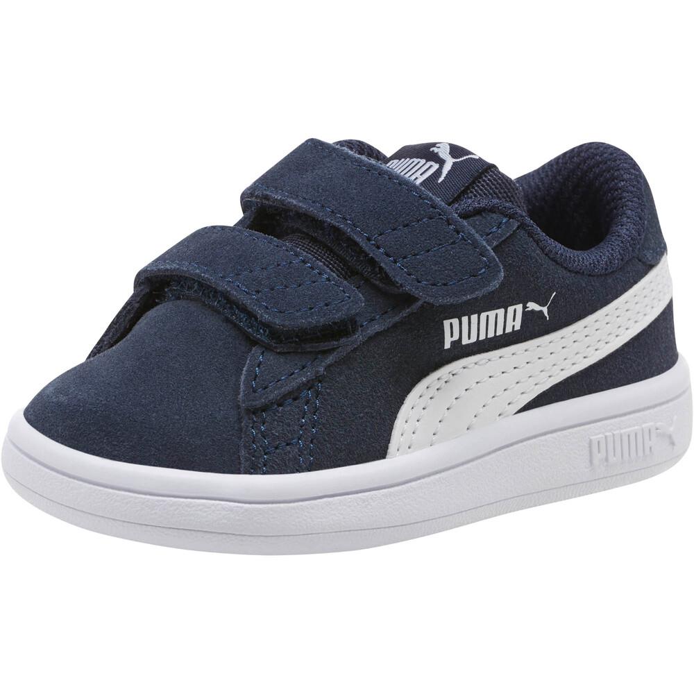 Image PUMA Smash v2 Suede Baby Sneakers #1