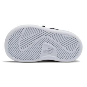 Thumbnail 3 of PUMA Smash v2 Suede Toddler Shoes, Peacoat-Puma White, medium