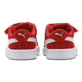 Thumbnail 4 of PUMA Smash v2 Suede Sneakers INF, High Risk Red-Puma White, medium