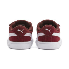 Miniatura 3 de ZapatosPUMA Smash v2Suede para bebés, Rhubarb-Puma White, mediano