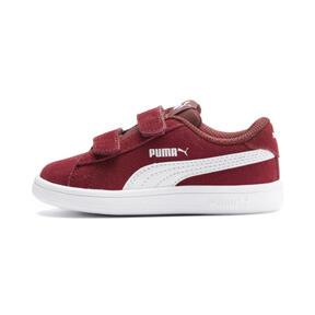 Miniatura 1 de ZapatosPUMA Smash v2Suede para bebés, Rhubarb-Puma White, mediano
