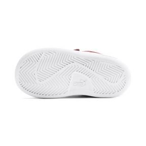 Miniatura 4 de ZapatosPUMA Smash v2Suede para bebés, Rhubarb-Puma White, mediano