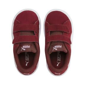 Miniatura 6 de ZapatosPUMA Smash v2Suede para bebés, Rhubarb-Puma White, mediano
