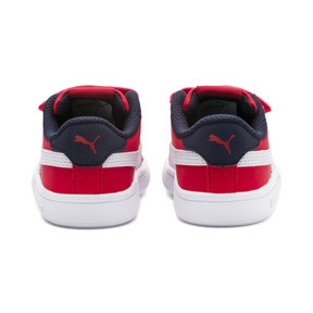 Thumbnail 4 of PUMA Smash v2 Buck Toddler Shoes, High Risk Red-Puma White, medium