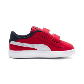Thumbnail 5 of PUMA Smash v2 Buck Toddler Shoes, High Risk Red-Puma White, medium