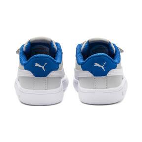 Thumbnail 4 of PUMA Smash v2 Buck Toddler Shoes, Gray Violet-Puma White, medium