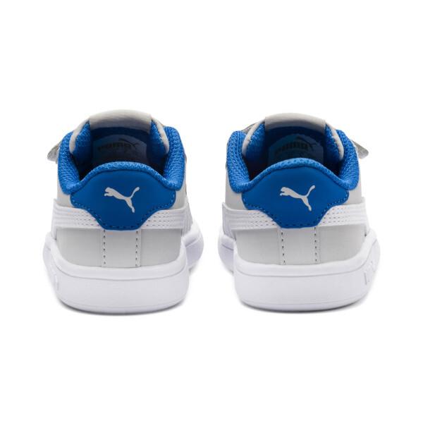 PUMA Smash v2 Buck Toddler Shoes, Gray Violet-Puma White, large