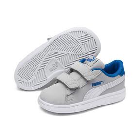 Thumbnail 2 of PUMA Smash v2 Buck Toddler Shoes, Gray Violet-Puma White, medium