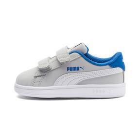 Thumbnail 1 of PUMA Smash v2 Buck Toddler Shoes, Gray Violet-Puma White, medium