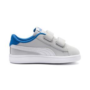 Thumbnail 5 of PUMA Smash v2 Buck Toddler Shoes, Gray Violet-Puma White, medium