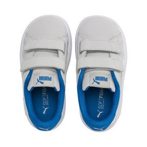 Thumbnail 6 of PUMA Smash v2 Buck Toddler Shoes, Gray Violet-Puma White, medium