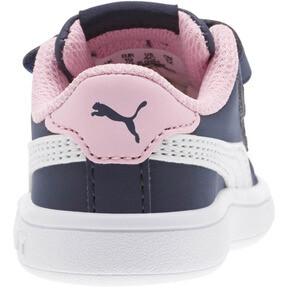 Thumbnail 4 of PUMA Smash v2 Buck Sneakers INF, Peacoat-Puma White-Pale Pink, medium