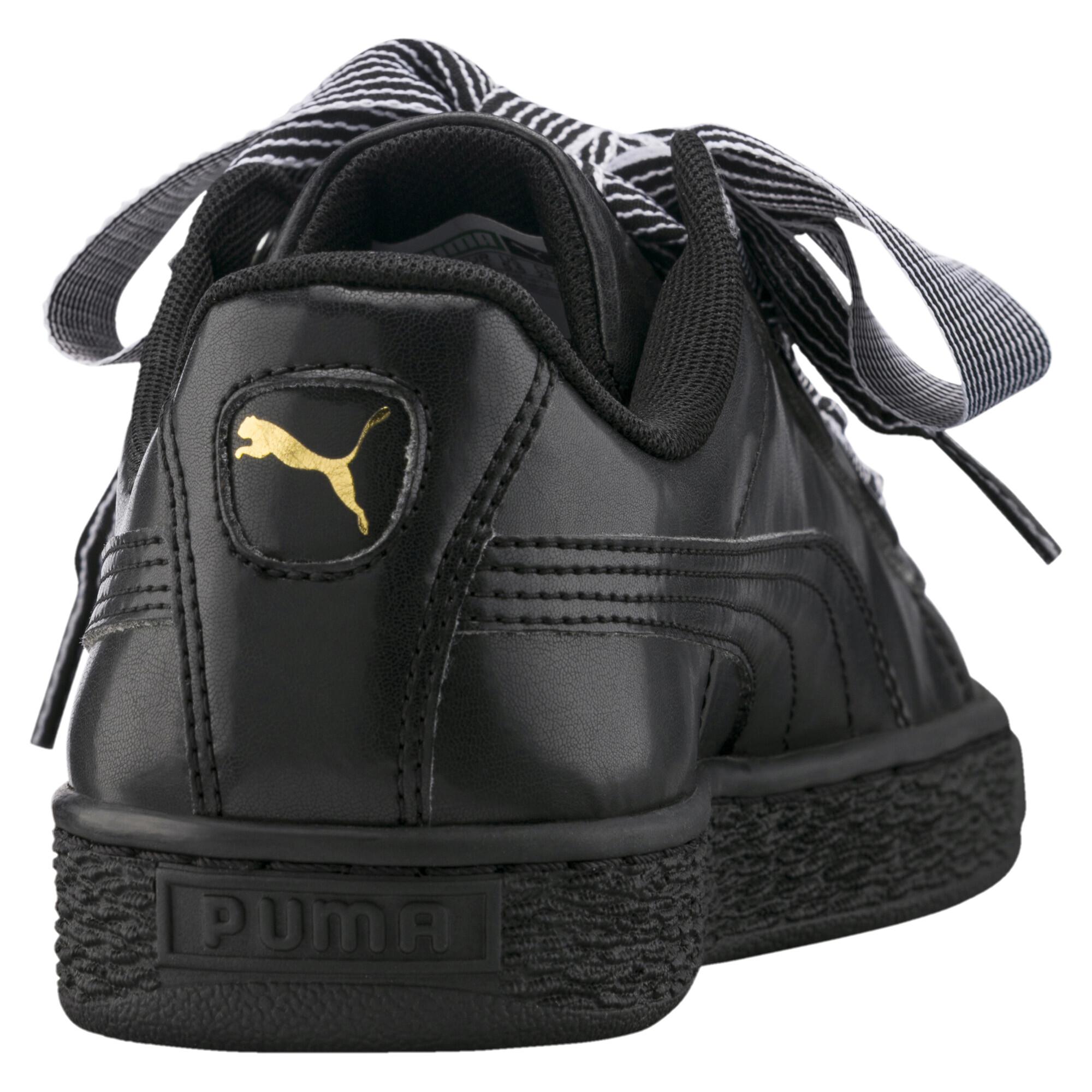 Image Puma Women's Basket Heart Sneakers #4