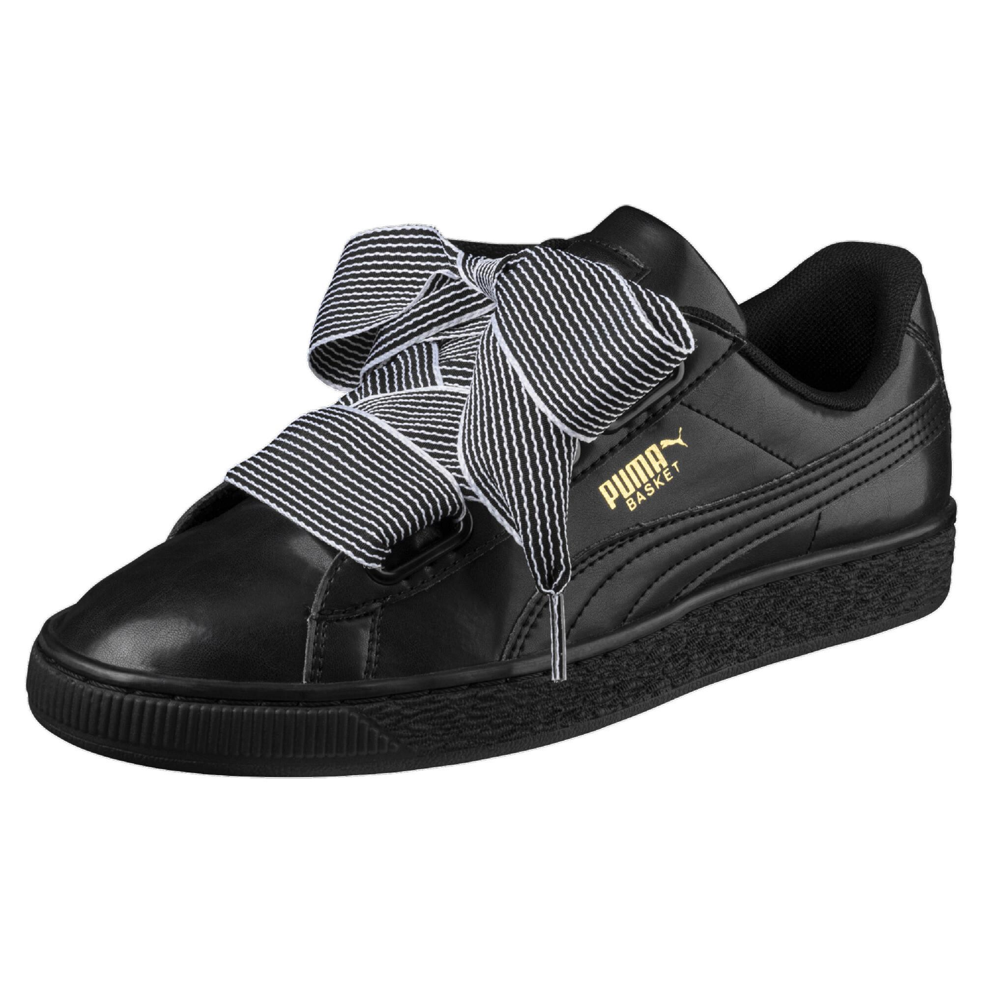 Image Puma Women's Basket Heart Sneakers #1