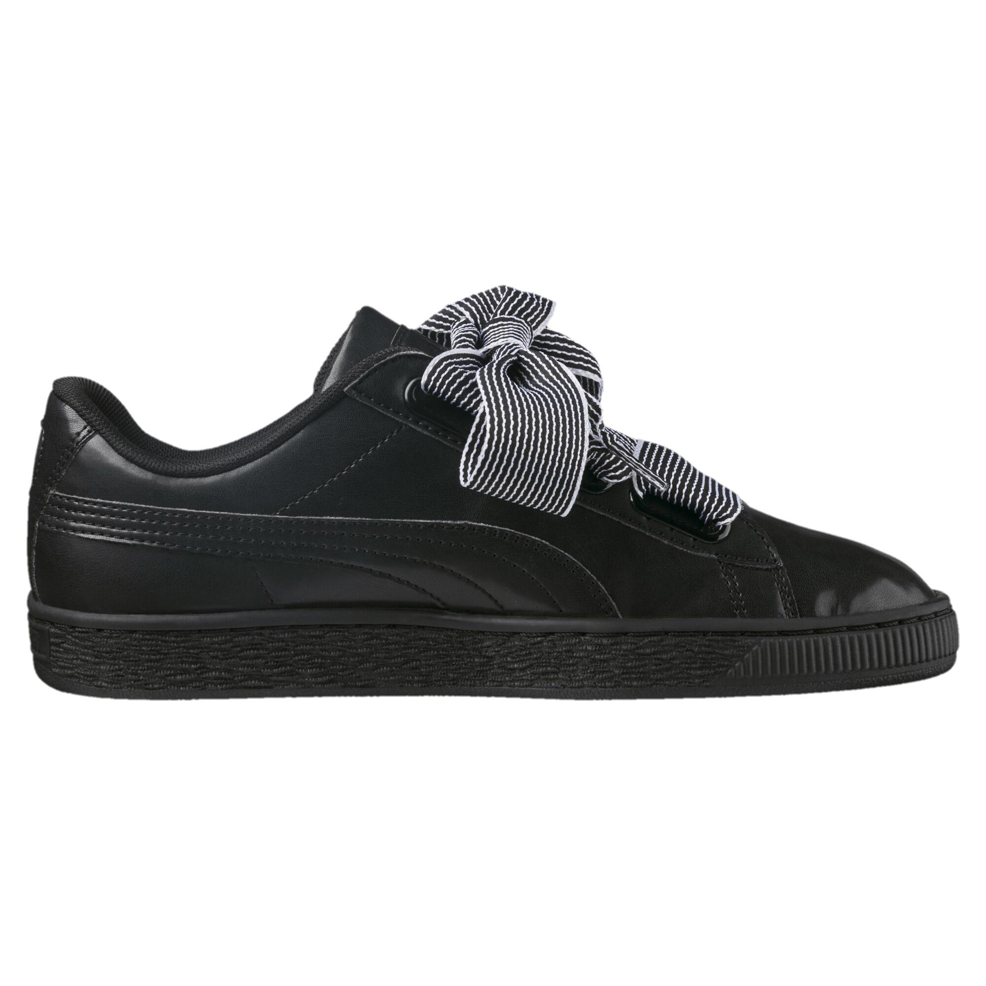 Image Puma Women's Basket Heart Sneakers #3